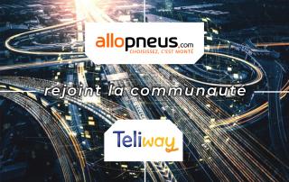 Allopneus s'équipe de TELIWAY
